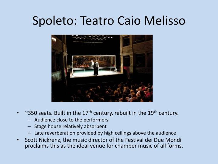 Spoleto:
