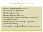 scenario planning key steps