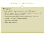 walmart s swot analysis