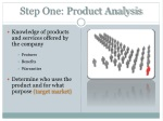 step one product analysis