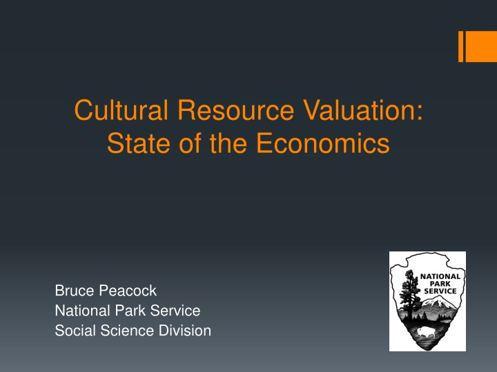 Cultural Resource Valuation: