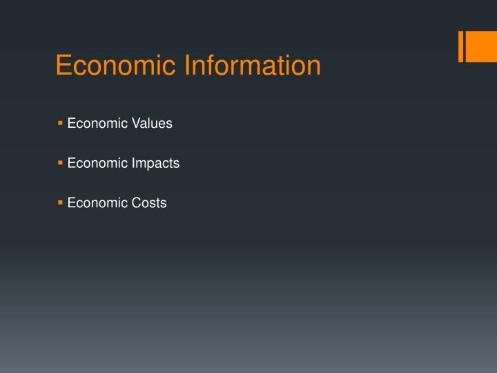 Economic Information
