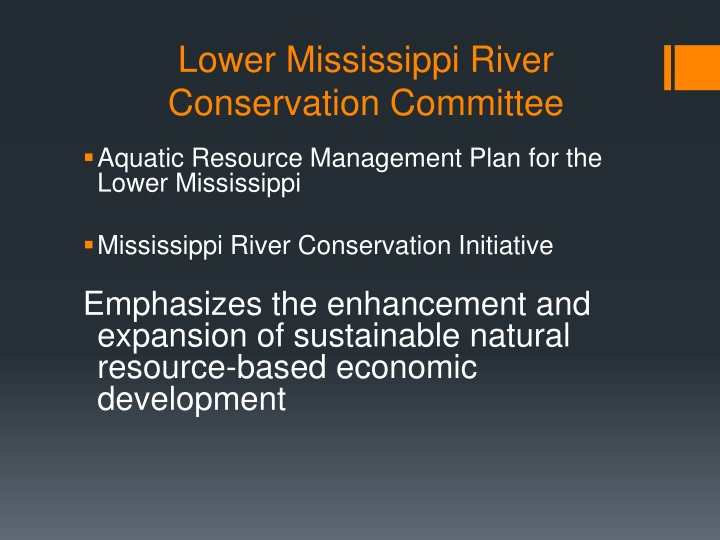 Lower Mississippi River Conservation Committee