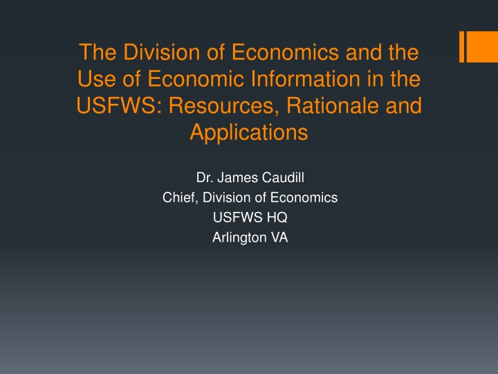 The Division of Economics and the