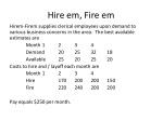 hire em fire em