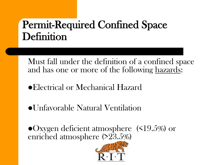 Permit-Required Confined Space Definition