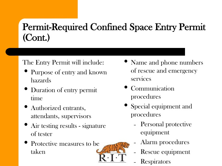 The Entry Permit will include: