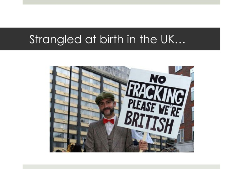 Strangled at birth in the UK…