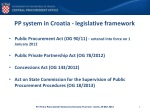 pp system in croatia legislative framework