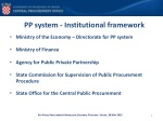pp system institutional framework