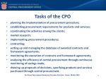 tasks of the cpo