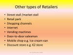 other types of retailers