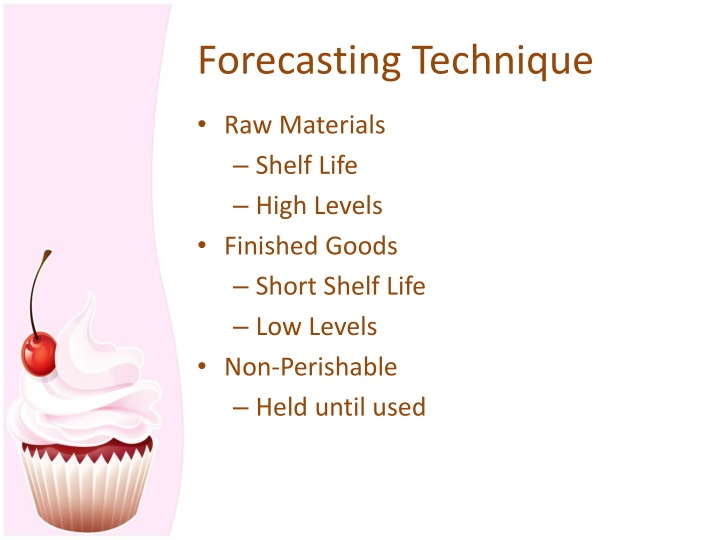 Forecasting Technique