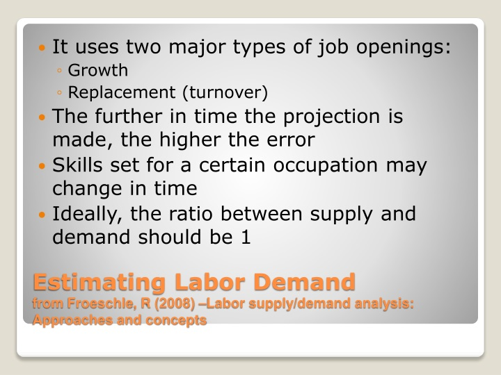 "historical example for labor supply and Historical example of labor supply and demand 2 historical example of labor supply and demand ""the great depression"" started in 1929 and lasted until 1941 it began with the dramatic drop of the united states' stock market supply and demand played a large role in bring the depression in order to have a stable economy supply and demand need to be equal."