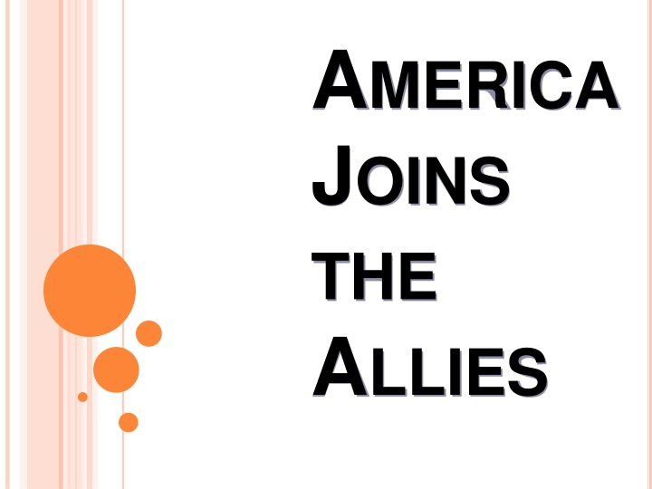america joins the allies