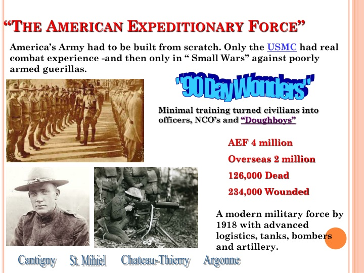 """The American Expeditionary Force"""
