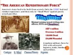 the american expeditionary force