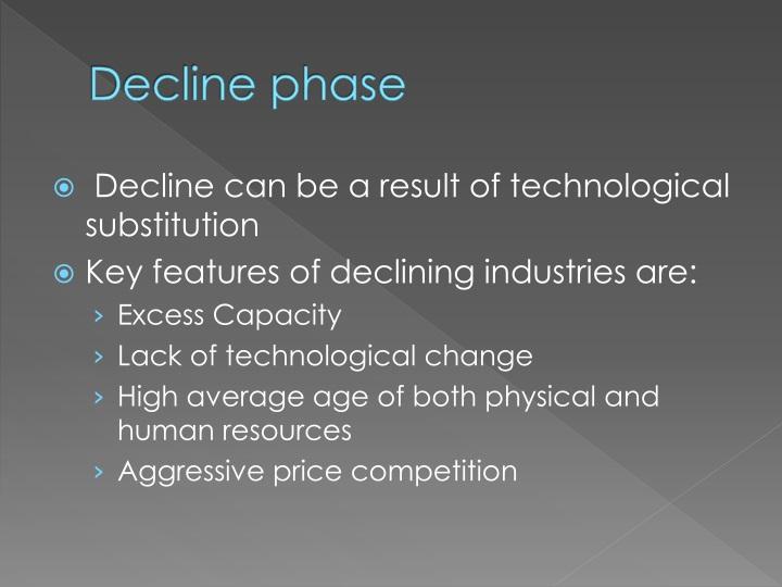 Decline phase