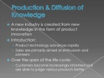 production diffusion of knowledge