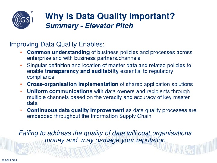 Why is Data Quality Important?