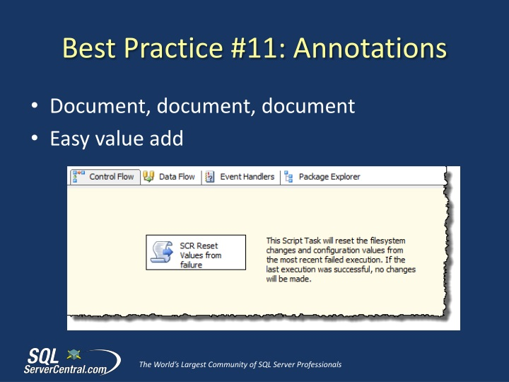 Best Practice #11: Annotations