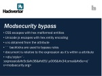 modsecurity bypass
