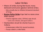 labor strikes
