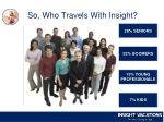 so who travels with insight