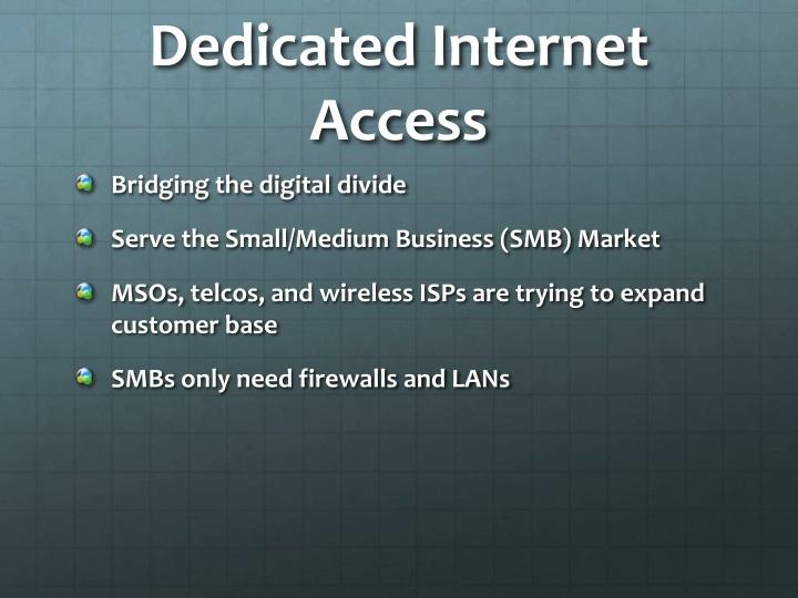 Dedicated Internet Access
