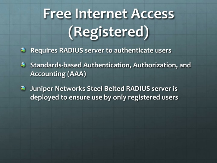 Free Internet Access (Registered)