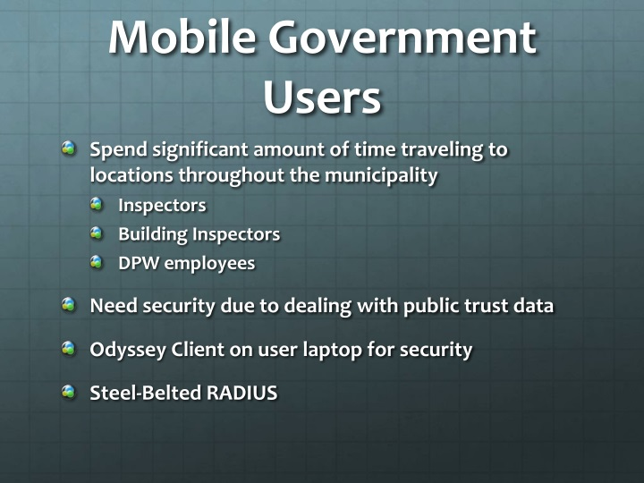 Mobile Government Users