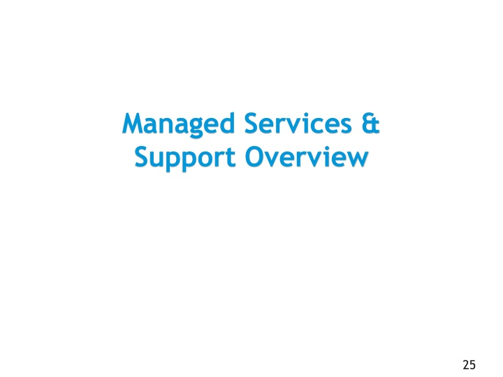 Managed Services &