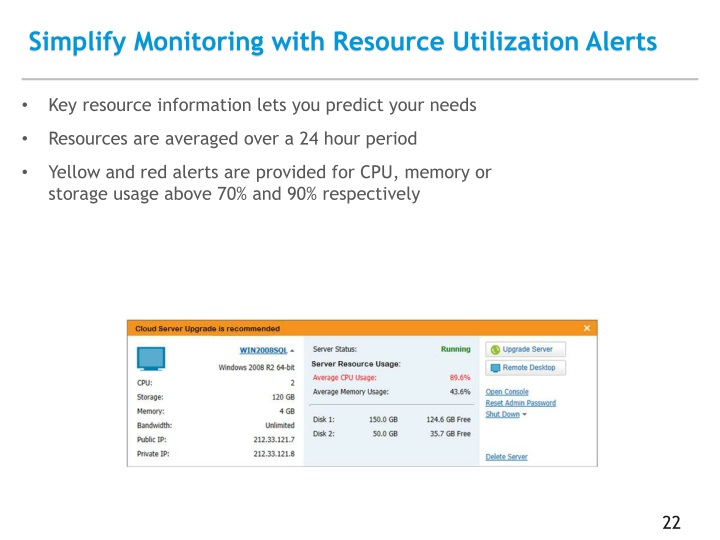 Simplify Monitoring with Resource Utilization Alerts