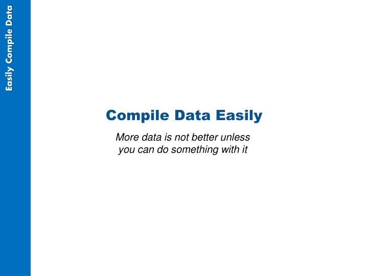 Compile Data Easily