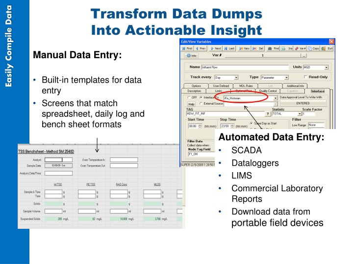 Transform Data Dumps