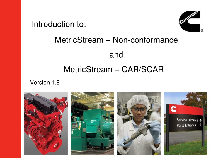Metricstream non conformance and metricstream car scar