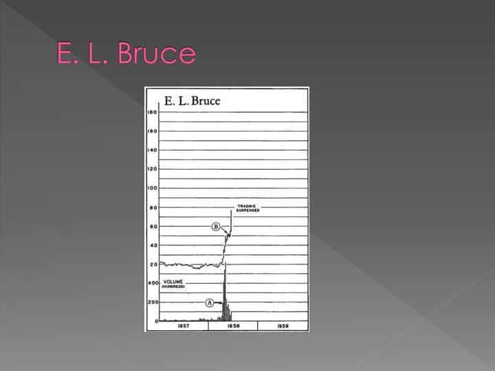 E. L. Bruce