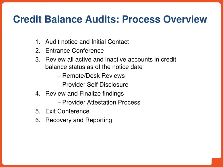 Audit notice and Initial Contact