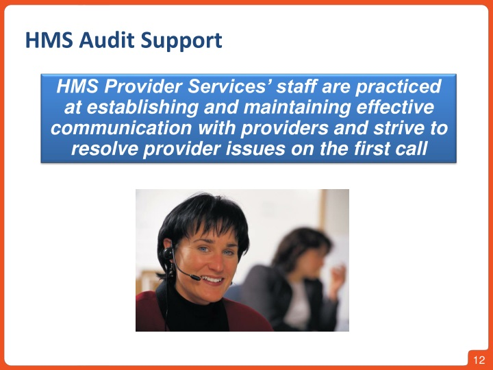 HMS Audit Support