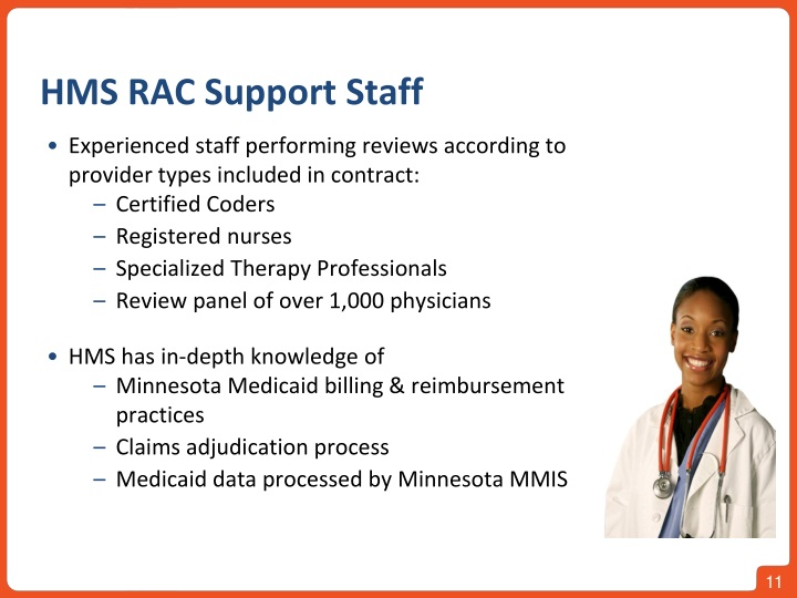 HMS RAC Support Staff