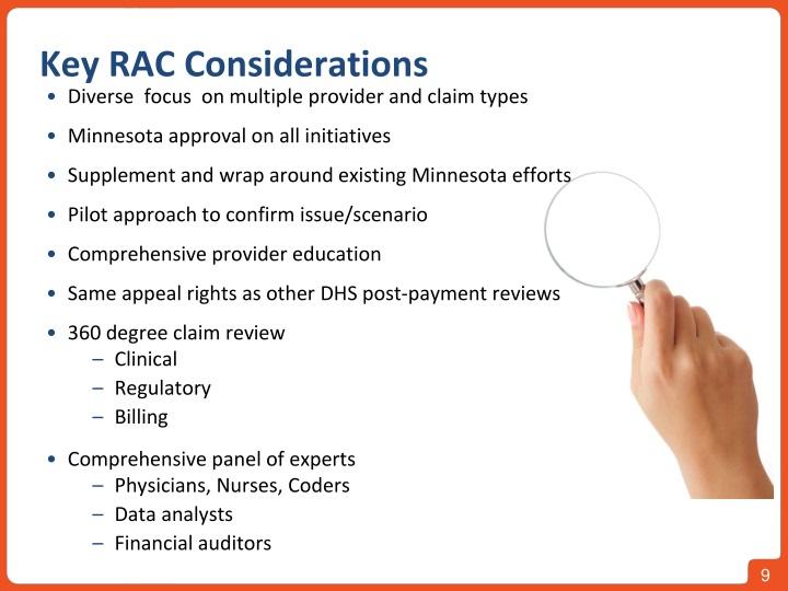 Key RAC Considerations