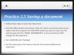 practice 2 5 saving a document