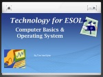 technology for esol