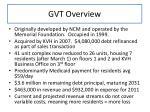gvt overview