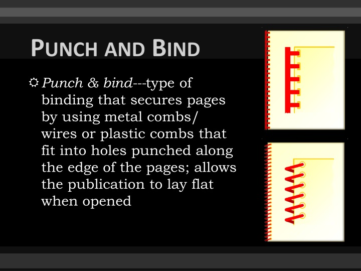 Punch and Bind