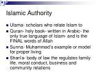 islamic authority