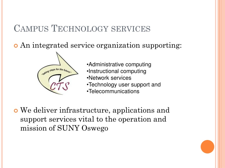 Campus Technology services