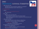 dnc democratic national committee