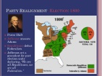 party realignment election 1800