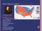 party realignment election 1896